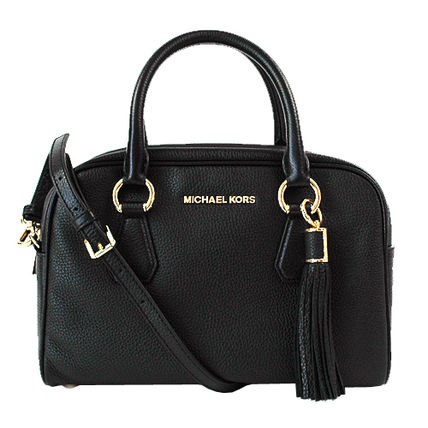 Michael Kors ハンドバッグ 【即発◆3-5日着】Michael Kors◆Medium Tassel Satchel ◆2way(7)