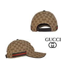 【17Cruise/SS関税込】GUCCI GG beigeキャップ