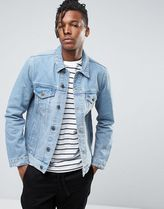 デニムジャケット Denim Jacket In Mid Blue Wash ASOS