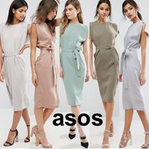 ♡送関込♡ASOS Belted Midi Dress