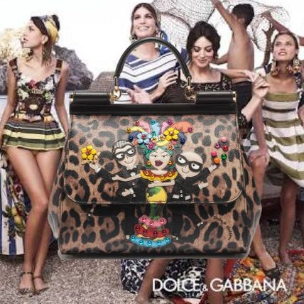 新作★【Dolce & Gabbana】SICILY★D&G FAMILY★2WAYバック♪M