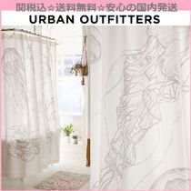 Urban Outfitters(アーバンアウトフィッターズ) カーテン 関送込☆国内発送☆Urban Outfitters☆クラゲ柄シャワーカーテン