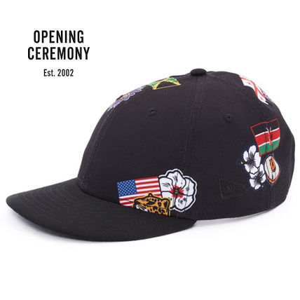 OPENING CEREMONY all country caps