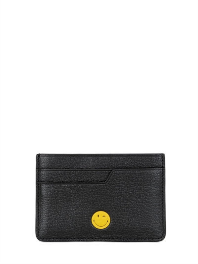 '関税込'' ANYA HINDMARCH SMILE LEATHER CARD HOLDER