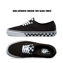 VANS★AUTHENTIC CHECKER TAPE★チェック柄★兼用★22~30cm