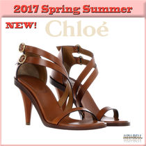 ★送料関税込★17春夏 Niko leather sandals  / CHLOE