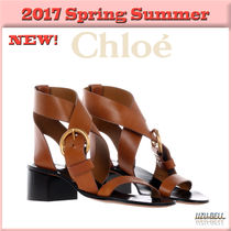★送料関税込★17春夏 Nils leather sandals  / CHLOE