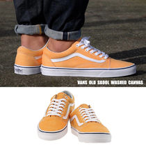 VANS★OLD SKOOL WASHED CANVAS★レトロ★兼用★22~28cm★2色
