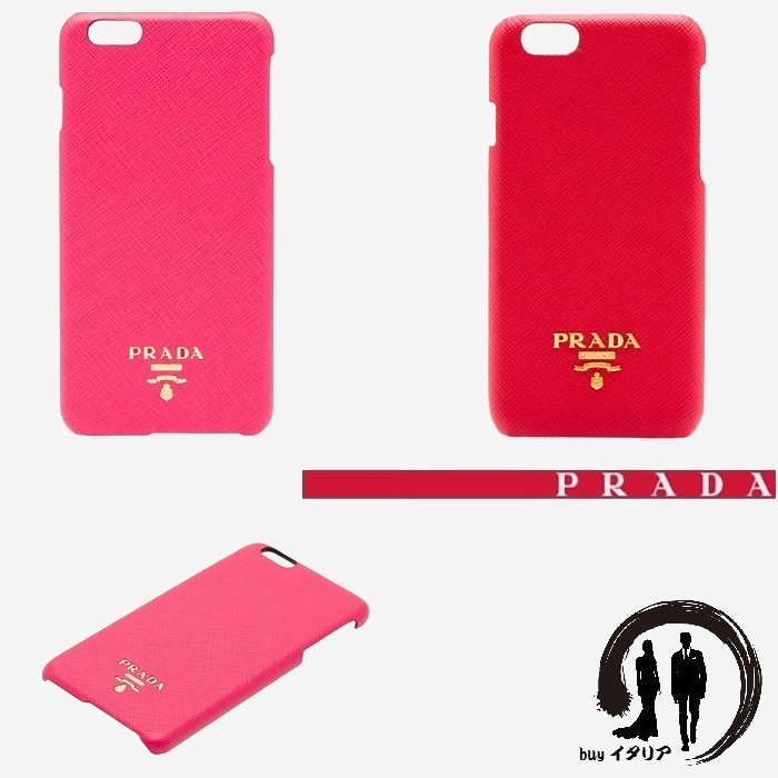 [PRADA] 【Saffiano leather】大人気 携帯カバー ☆ iPhone 6 用