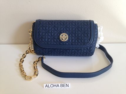 TORY BURCH  BRYANT QUILTED SMALL CROSSBODY ミニ 即発送 買得