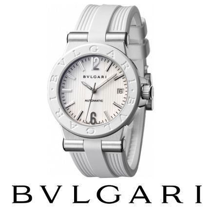 大人気 ☆BVLGARI☆ DIAGONO Automatic 35mm 腕時計♪