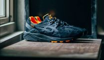 "asics(アシックス) スニーカー [PORTER x ASICS Tiger]Gel-Kayano Trainer ""That Black Nylon"""