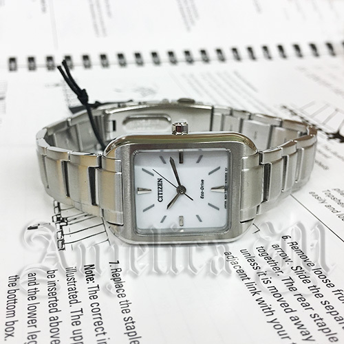 ★逆輸入★CITIZEN Eco-Drive Women's Silhouette EM0490-59A