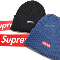 国内即発◎ 17SS SUPREME OVERDYED RIBBED BEANIE CAP BOX LOGO