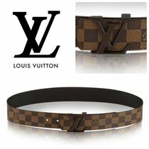 "LOUIS VUITTON ★ サンチュール・LV イニシアル 40MM ""ダミエ"""