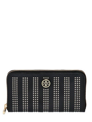'関税込'' TORY BURCH SAFFIANO LEATHER ZIP WALLET