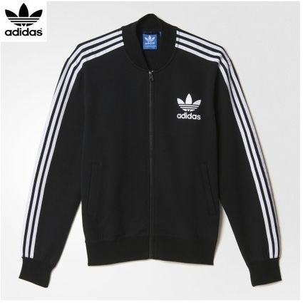 adidas Originals adidas track jacket black