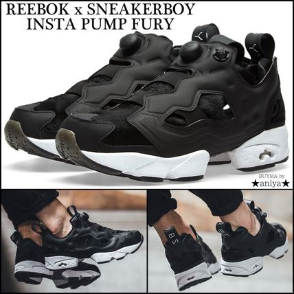 And REEBOK x SNEAKERBOY INSTAPUMP FURY collaboration