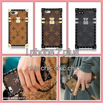 LOUIS VUITTON ルイヴィトン EYE-TRUNK for  IPHONE 7 PLUS 3色