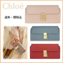 ★セール★送料/関税込 Chloe★Drew leather wallet★