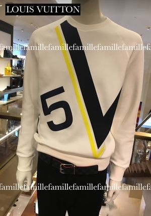 限定17SSLouis Vuitton LVカップ限定 Latitude sweat shirt