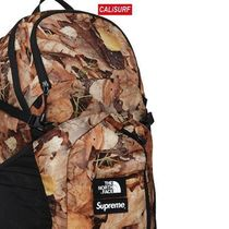 コラボ☆S Supreme x TNF POCONO BACKPACK/CAMO