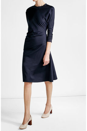 JIL SANDER * Dolman sleeve dress