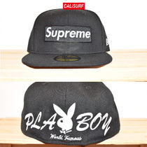 コラボ☆7 5/8 Supreme(シュプリーム)SS17 Playboy Newera/BLACK