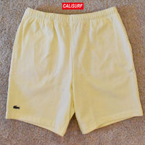 人気コラボ!Mサイズ SUPREME X LACOSTE PIQUE SHORTS /YELLOW