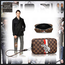 【Louis Vuitton】ポシェット・ヴォルガ ダミエ エベヌ バッグ