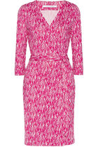 ☆sale☆ DVF Julian printed silk-jersey wrap dress