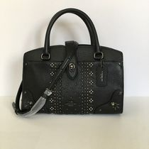 【COACH】人気・即発☆mercer satchel 24 bandana rivets 55634