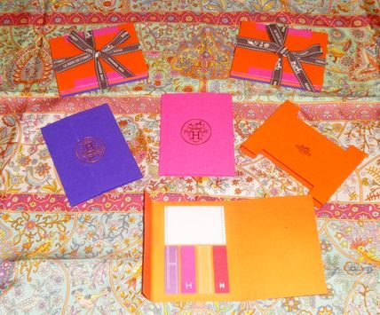 Ultra rare HERMES sticky sticky 3 books per pack limited