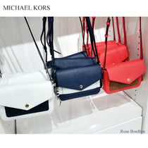 【Michael Kors】Greenwich Small Flap Crossbody