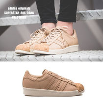 adidas★SUPERSTAR 80S CORK★レザー★コルク★PALE NUDE