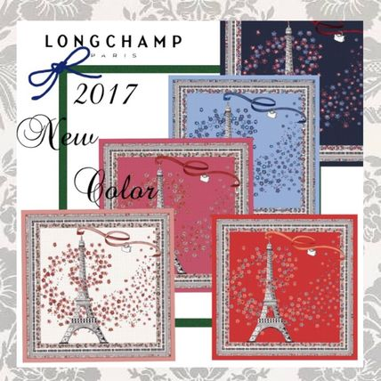 2017 spring summer * LONGCHAMP limited edition scarf