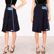 PR468 A-LINE WRAP SKIRT WITH VELCRO STRAP