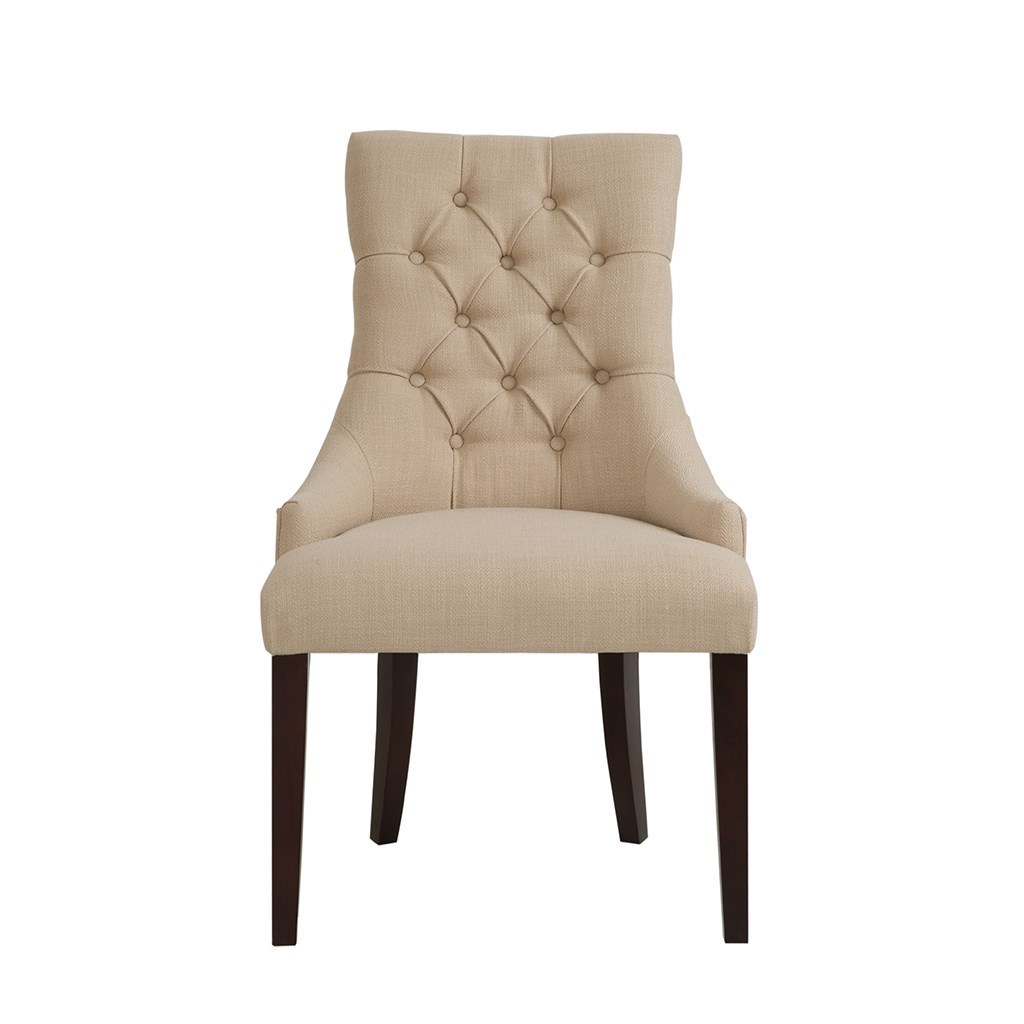 Madison Park ダイニングチェアー2脚セットCorbel Tufted Back