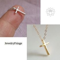 JewelryFringe★Tiny Cross Necklace★クロスネックレス