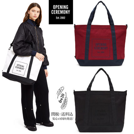 Try OPENING CEREMONY 2way tote bag