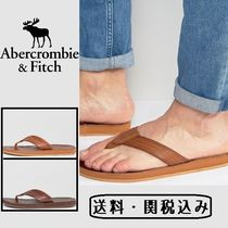 Abercrombie & Fitch レザー フリップフロップ
