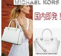 国内即発♪Michael Kors★SELMA MEDIUM SAFFIANO3waySATCHEL白