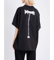 【手元に在庫あり】 VETEMENTS oversize staff Tシャツ BLACK
