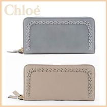 ★送料/関税込 Chloe★Hudson leather zipper wallet★