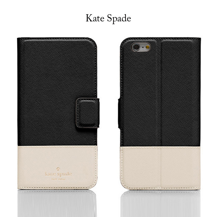 *国内在庫有* Kate Spade leather wrap folio iPhone7 Plus