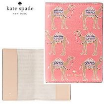 17SS★Kate Spade★spice things upキャメル母子手帳ケース