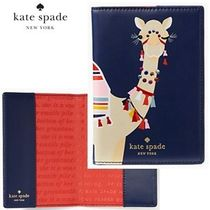 kate spade new york(ケイトスペード) 母子手帳ケース 17SS★Kate Spade★spice things upキャメル母子手帳ケース