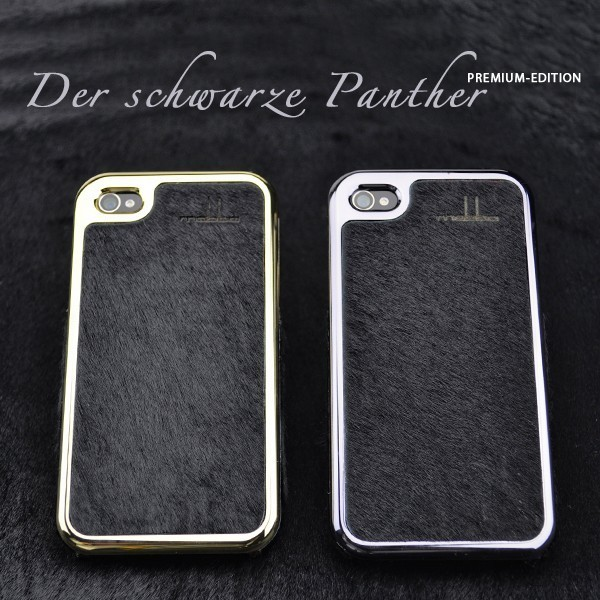 ☆mabba☆ドイツより*☆iPhone 4/4Sケース☆schwarze Panther☆