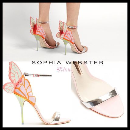 * SOPHIA WEBSTER * Butterfly wing leather sandals