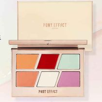 PONY EFFECT(ポニーエフェクト) メイクアップその他 COLOR CORRECTING MASTER PALETTE 6 COLORS